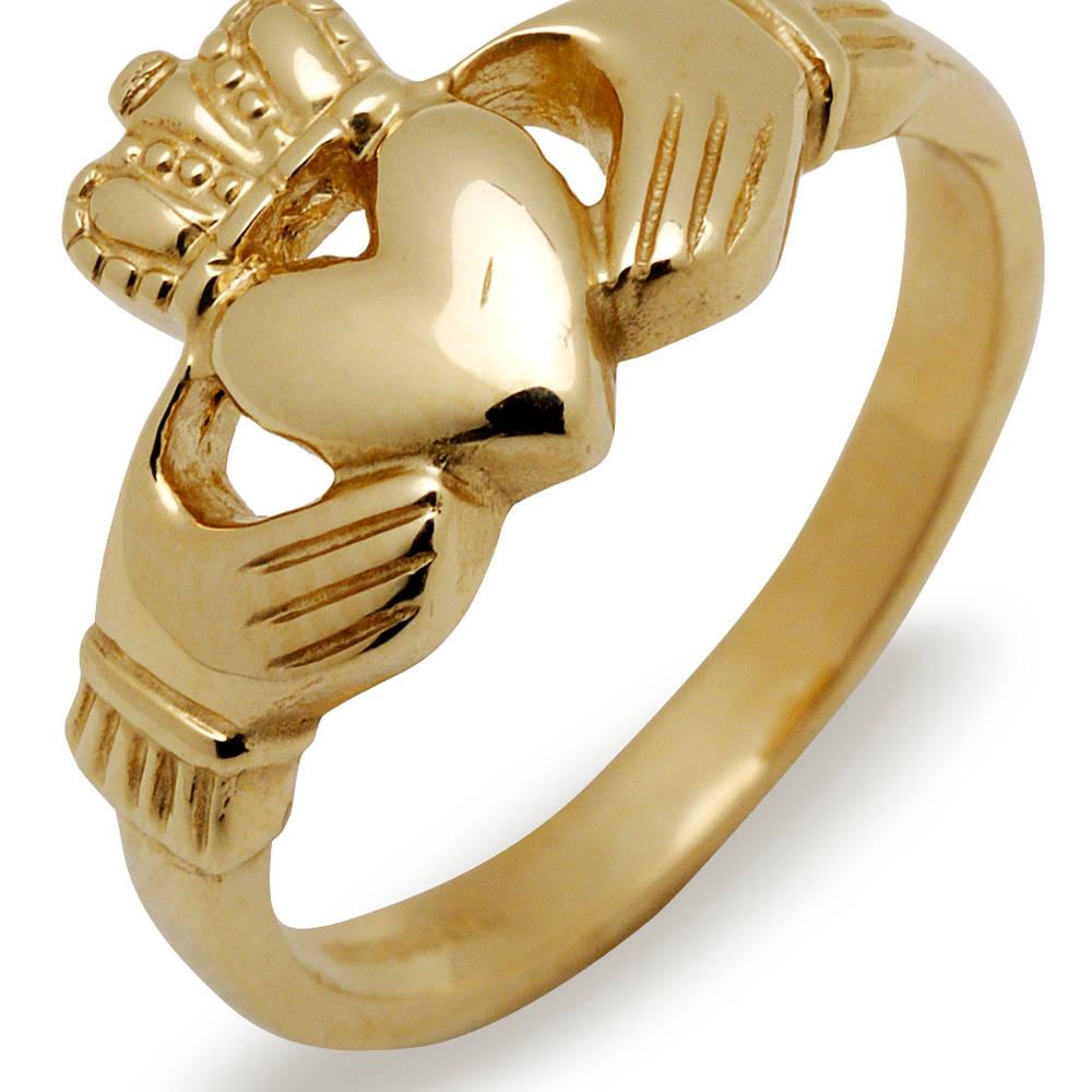 10 carat Claddagh ring