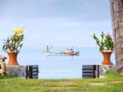 Akuvara - Private beach villa gate