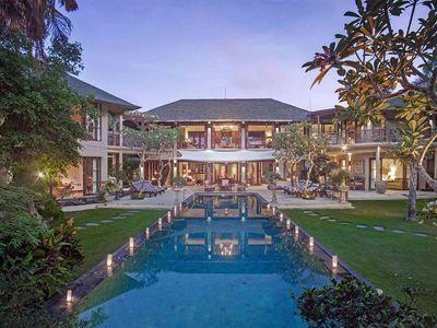 Avalon I - View across pool to villa