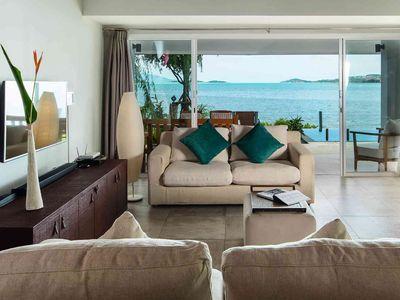 Baan Dalah - Lounge with magnificent view