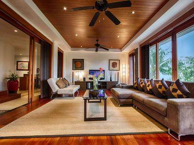 Baan Surin Sawan - Interior living room 2