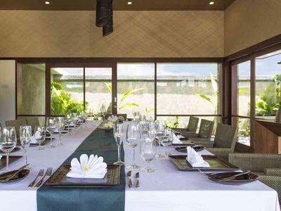 Villa Bayu Gita Beachfront - Indoor dining