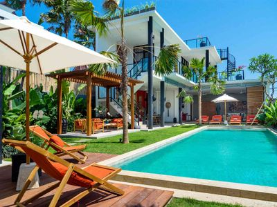 Villa Boa at Canggu Beachside Villas - Relax and enjoy the poolside