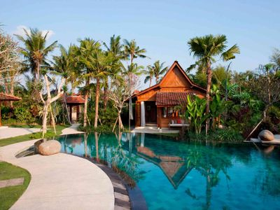3. Villa Sati - Pool reflections
