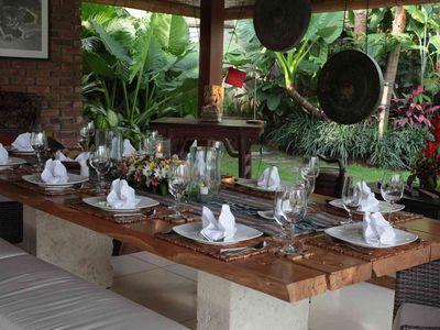 6. Villa Sati - Dining room