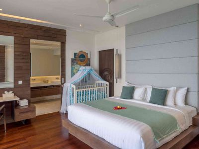 Grand Cliff Nusa Dua -  Master bedroom two with baby cot