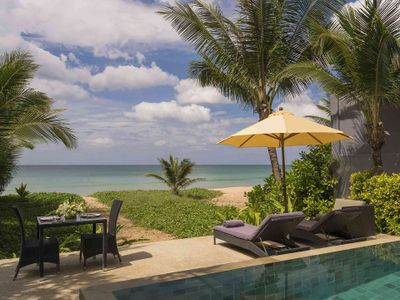 Infinity Blue Phuket - Amazing view from pool and outdoor dining area
