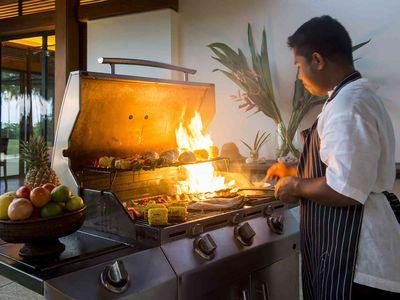 Jivana Villas - Chef in action