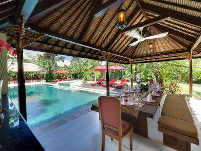 Villa Kalimaya I - Dining pavilion