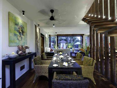Majapahit Beach Villas - Raj - Dining room