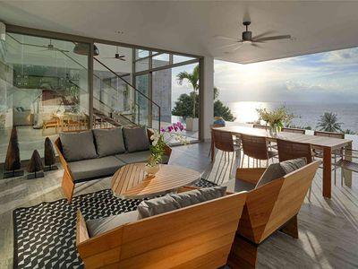 Malaiwana Duplexes - Outdoor living spaces