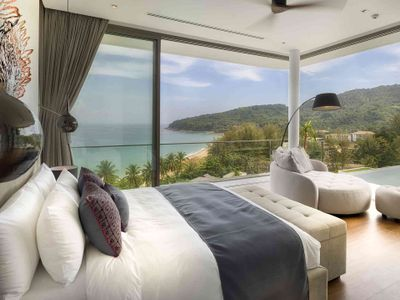 Malaiwana Penthouse- Bedroom outlook