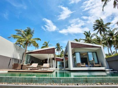 Villa Neung at Mandalay Beach Villas - Stylish villa facade