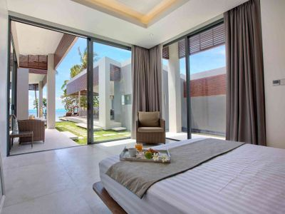 Villa Neung at Mandalay Beach Villas - Bedroom three with exquisite view