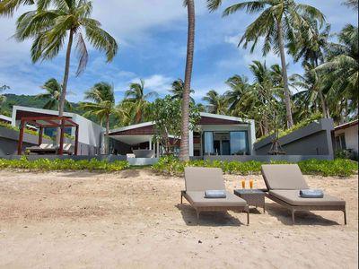 Villa Soong at Mandalay Beach Villas - Absolute beachfront villa