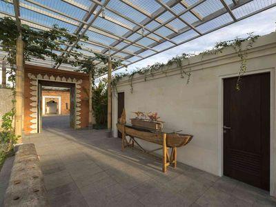Pandawa Cliff Estate - The Pala - Entrance walkway