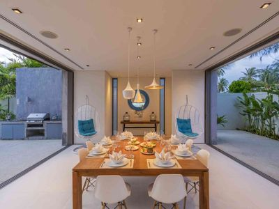 Villa Roxo - Dining area layout