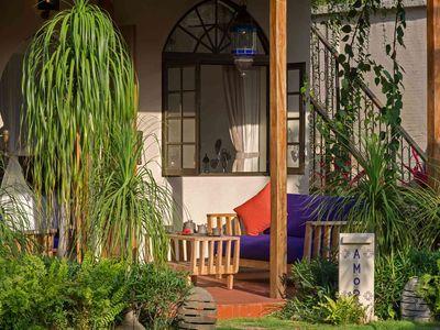 Villa Sayang d'Amour - Bedroom terrace sofas