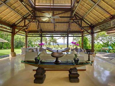 Villa Sungai Tinggi - Living area