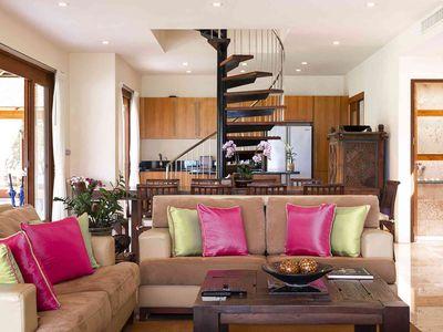 Tawantok Beach Villas - Villa 1 - Living room layout