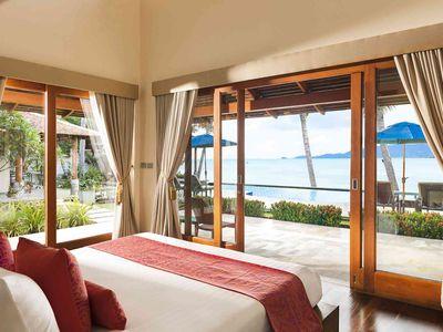 Tawantok Beach Villas - Villa 1 - Outstanding master bedroom outlook