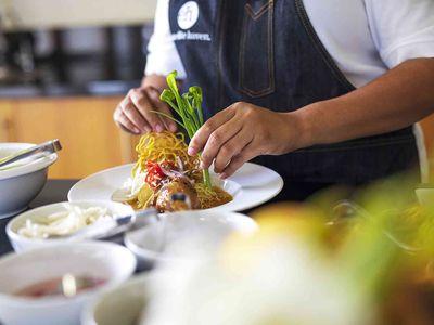 Tawantok Beach Villas - Villa 1 - Food preparation