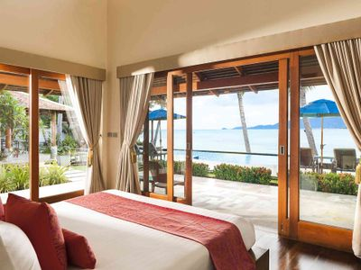 Tawantok Beach Villas - Villa 2 - Outstanding master bedroom outlook