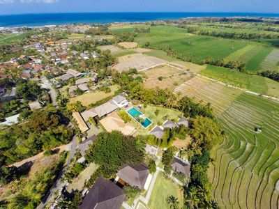Chalina Estate - Ricefields to the sea
