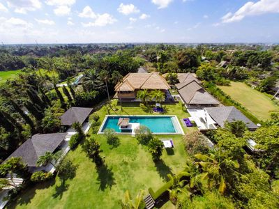 Chalina Estate - The villa from above