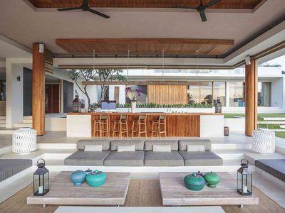 The Iman Villa - Open air lounge