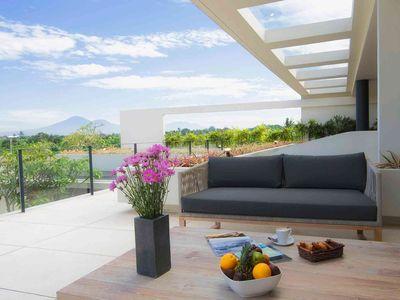 The Iman Villa - Master bedroom terrace