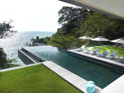Villa Amanzi Kamala - Pool area