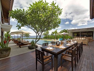 Villa Asada - Outdoor dining area