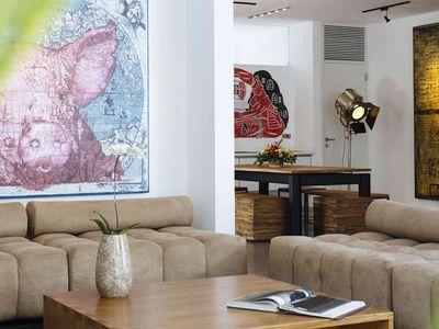 Villa Canggu - Villa North living and dining areas