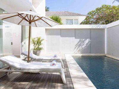 Villa Canggu - Villa North poolside