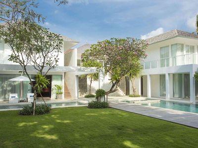 Villa Canggu - The villa and gardens