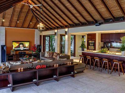Villa Cantik Pandawa - Living room