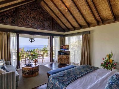 Villa Cantik Pandawa - Upstair bedroom outlook