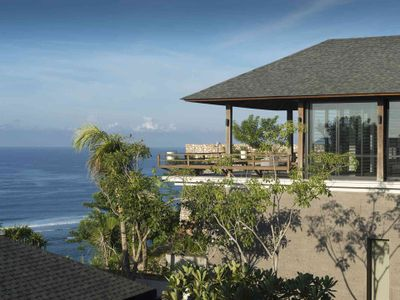 Villa Hamsa - Master bedroom balcony outlook