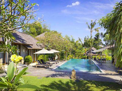 Villa Hansa - Pool area