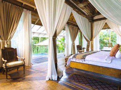 Villa Hansa - Master bedroom outlook