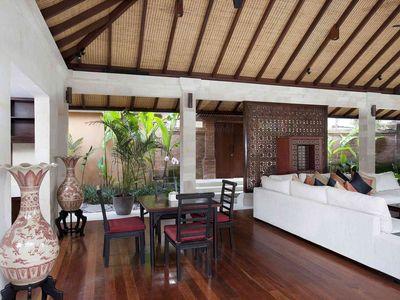 Villa Iskandar - Living and dining