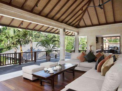 Villa Iskandar - Living area