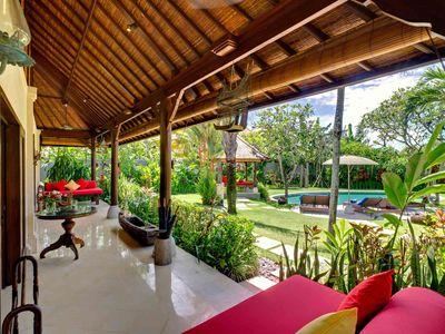 4. Villa Kakatua - Veranda for bedrooms 3 & 4