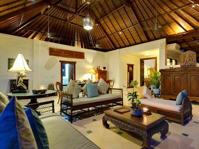 6. Villa Kedidi - Living room at night