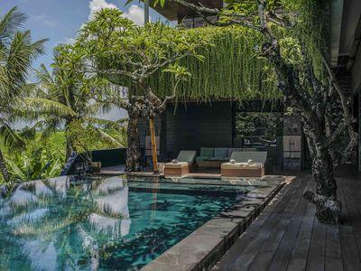 Villa Mana - Lounge poolside