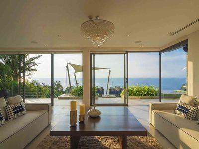 Villa Samira - Living area sea view