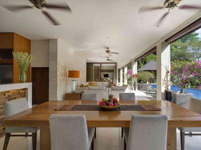 Villa Shinta Dewi Ubud - Dining and entertaining spaces