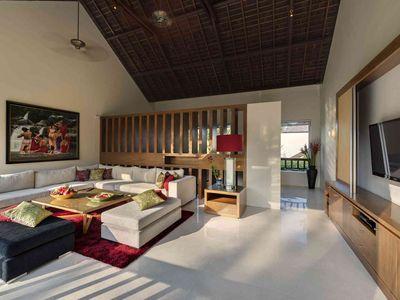 Villa Shinta Dewi Ubud - First floor living area