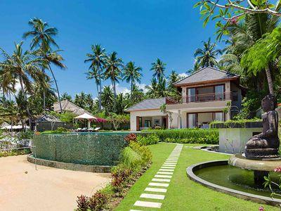Villa Tirta Nila - View from oceanside
